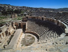 North theatre, Roman period Jerash, Jordan