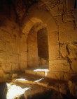Arch of Qalaat el Rabadh, twelfth century fortress, Ajloun, Jordan