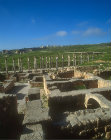 Umayyad house and south Decumanus,  Jerash, Jordan