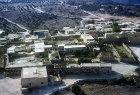Arab house,  Umm Qais, (Gadara) aerial photograph, Jordan