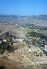 Jerash, general view, aerial photograph, Jordan