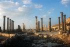 Roman forum,  Umm Qais (Gadara), Jordan