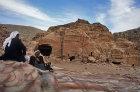 Bdoul bedouin at Mughara an-Nassara, Petra, Jordan