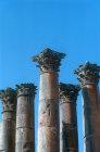 Temple of Artemis, columns, Jerash, Jordan