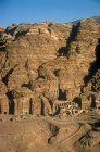 Urn tomb, aerial photograph, Petra, Jordan