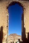 Qasr al-Bint, main arch, Petra, Jordan