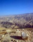 Hills of Moab, seen across Wadi el Hasa (biblical Zered Valley), Jordan