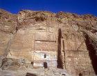 Silk tomb, centre, Petra, Jordan