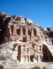 Bab as-Siq obelisk tomb and Bab as-Siq triclinium, Petra, Jordan
