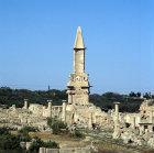 Libya, Sabratha, Mausoleum of Bes
