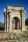 Libya Leptis Magna, Arch of Emperor Septimus Severus c.203 AD