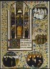 Monastic orders, from a 15th century Book of Hours for Parisians,  Latin manuscript MS 1176 Bibliotheque Nationale, Paris, France