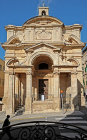 Valletta, Church of St Catherine of Italy, designed 1576 by Gerolamo Cassar, rebuilt 17th century, Malta