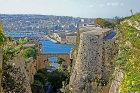 Valletta, Marsamxett harbour from St Michael