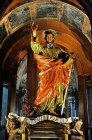 Valletta, Church of St Paul shipwrecked, statue of St Paul by Melchiorre Gafa, 1578, Malta