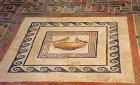 Mdina, Roman domus, mosaic of the birds central panel, first century, Malta