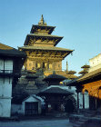 Temple in Boudhanath, Nepal