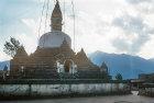 Buddist Stupa, Kirtipur, Nepal