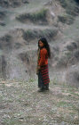 Sherpa girl in Nepal