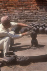 Newari potter at wheel, Nepal