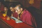 Buddhist monks, Kathmandu, Nepal