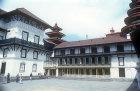 Old royal palace, Nasal Chowk (Coronation Courtyard), Kathmandu, Nepal
