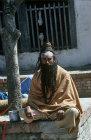 Hindu holy man, Kathmandu, Nepal