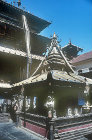 Golden Temple, Hiranya Varna Mahavihar, twelfth century Buddhist temple, Patan, Nepal