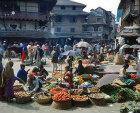 Nepal, Kathmandu street market