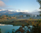 Nepal, Pokhara, Annapurna south Macchapuchare