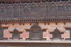 Decorative wood work, Durbar Square, Bhaktapur, Nepal
