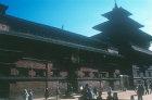 Old Royal Palace, detail, Durbar Square, Patan, Nepal