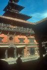 Sundari Chowk courtyard in old Royal Palace, Patan, Nepal
