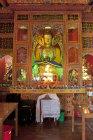 Buddhist shrine, Kopan Tibetan Buddhist Monastery, Kathmandu, Nepal