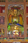 Image of the Buddha, Kopan Tibetan Buddhist Monastery, Kathmandu, Nepal