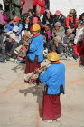 Trumpeters, Tiji Festival, Lomanthang, Upper Mustang, Nepal