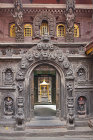 Entrance to shrine, Durbar Square, Bhaktapur, Nepal