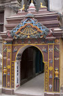 Doorway to Maha Buddha Temple, Durbar Square, Patan, Nepal