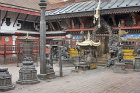 Courtyard of temple, Uku Bahal, Patan, Nepal