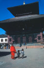 Nepal Bhadgaon Durbar Square Jagannath Temple 17th century