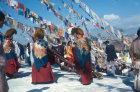 Nepal Boudhnath Buddhist New Year Festival