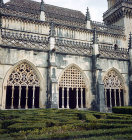 Batalha Abbey Church, begun 1386, completed circa 1517, east arcade of cloister, central region, Portugal