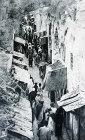 David Street, circa 1923, old postcard, Jerusalem, Palestine