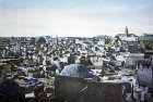 Panoramic view of city of Jerusalem from north west, circa 1906, Palestine