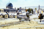 Dome of the Rock and Temple Area from the north, circa 1906, Jerusalem, at that time Palestine, now Israel