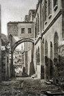 Via Dolorosa, Ecce Homo arch, old postcard, circa 1906, Jerusalem, Palestine