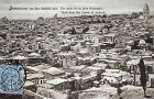 View from the Tower of Antonia, circa 1906, Jerusalem, at that time Palestine, now Israel
