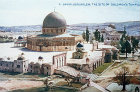 Palestine, Jerusalem, Temple Area seen from the north circa 1906