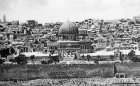 Palestine, Jerusalem, the Dome of the Rock from the Mount of Olives circa 1910