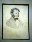 South Africa, Durban, portrait of Henry Francis Fynn watercolour by Fredrick Timpson L